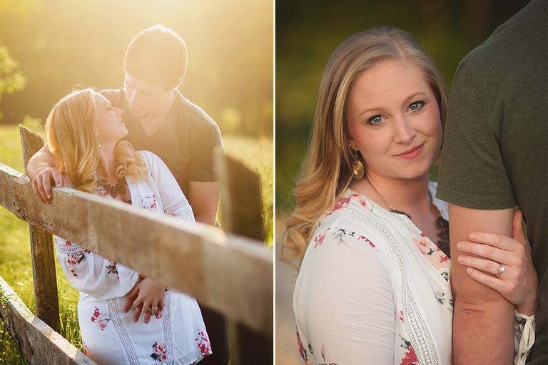 wedding engagement photography indiana kentucky country